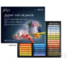 Пастель масляная Mungyo Gallery Soft Oil, мягкая профессиональная 48 цветов