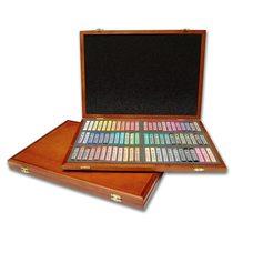 Набор пастели мягкой квадратной в деревянной коробке GALLERY Artists Soft, 72 цвета MUNGYO