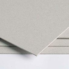 Картон серый 0.7 мм 70 х100 см пл. 441 гр/м2 Luxline