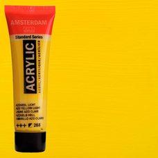 Акриловая краска AMSTERDAM цв.268, туба 20мл, Желтый светлый АЗО