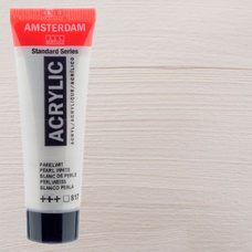 Акриловая краска AMSTERDAM цв.817, туба 20мл, Белый жемчужный