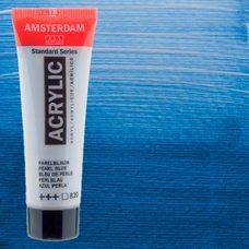 Акриловая краска AMSTERDAM цв.820, туба 20мл, Синий жемчужный