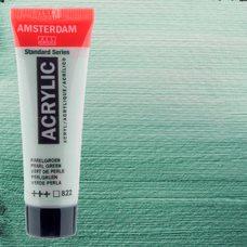 Акриловая краска AMSTERDAM цв.822, туба 20мл, Зеленый жемчужный