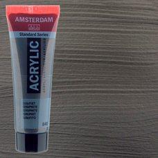 Акриловая краска AMSTERDAM цв.840, туба 20мл, Графит