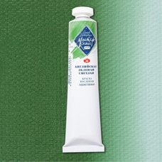 Английская зеленая светлая краска масляная Мастер-Класс 46 мл 7375