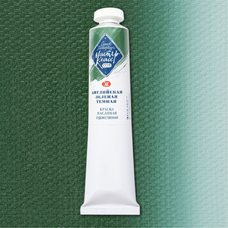 Английская зеленая темная краска масляная Мастер-Класс 46 мл 738